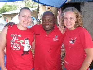 Monday's red shirt crew
