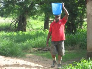 Walter carrying water